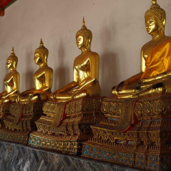 bangkok – reich der goldenen buddha-statuen