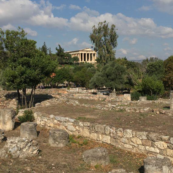 von der akropolis in die agora