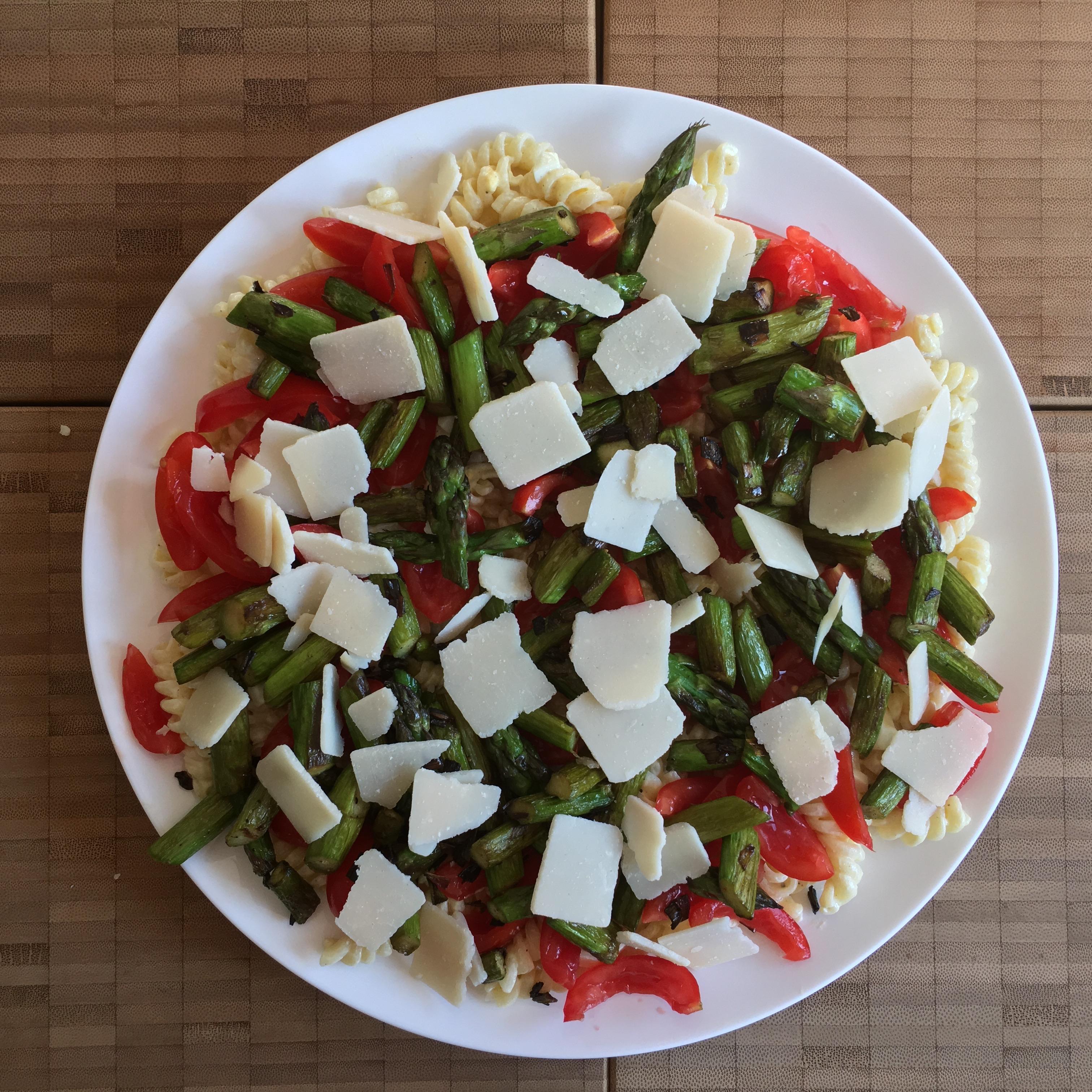 cold asparagus pasta