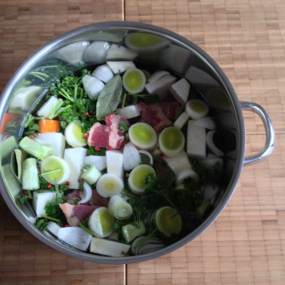 basic beef broth – basic soup!