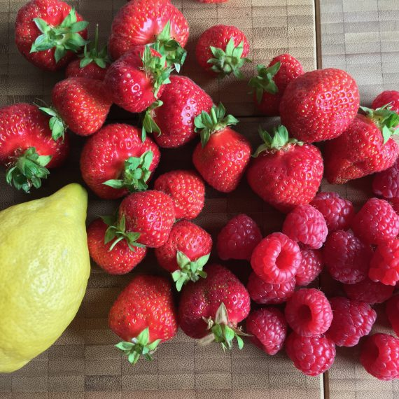 jam season: strawberry – raspberry – lemon!