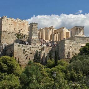 approaching acropolis