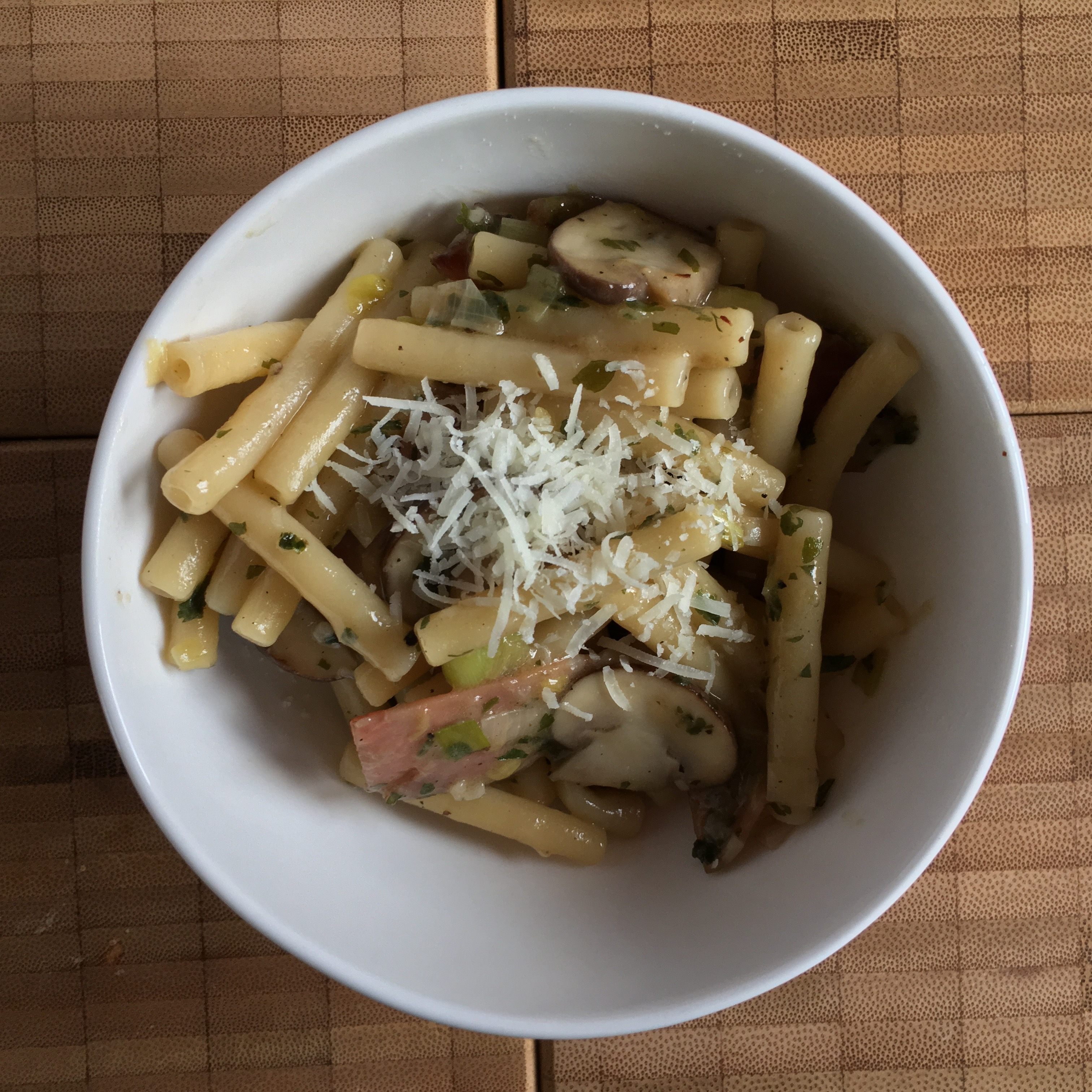 one-pot-pasta: zum ersten!