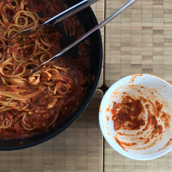 one pot pasta tomato – simply!