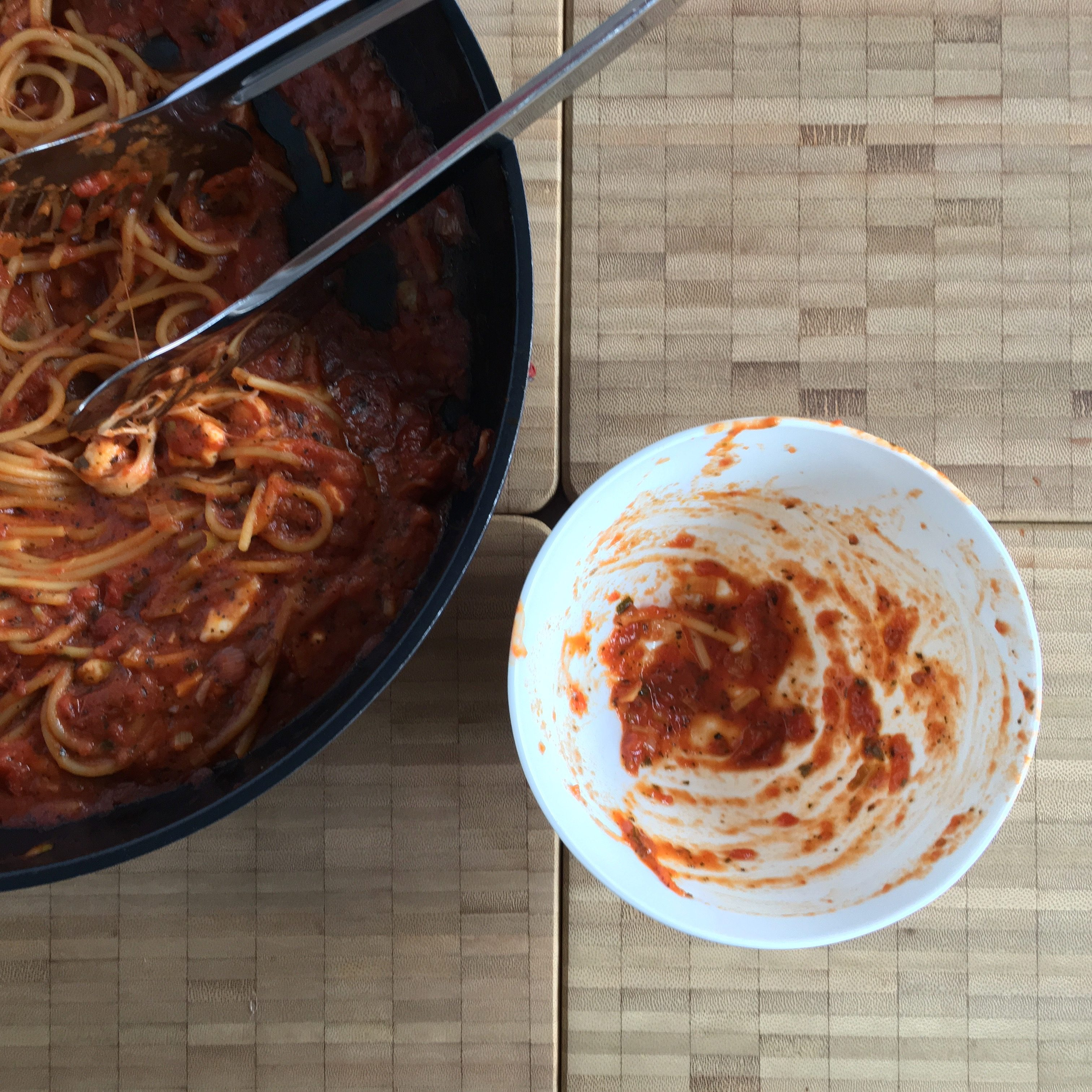 one pot pasta tomato - simply!