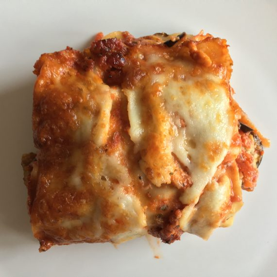 lasagna filled w/ vegetables