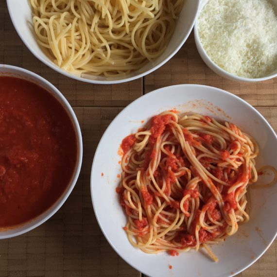 ruby's eat up & tomato sauce