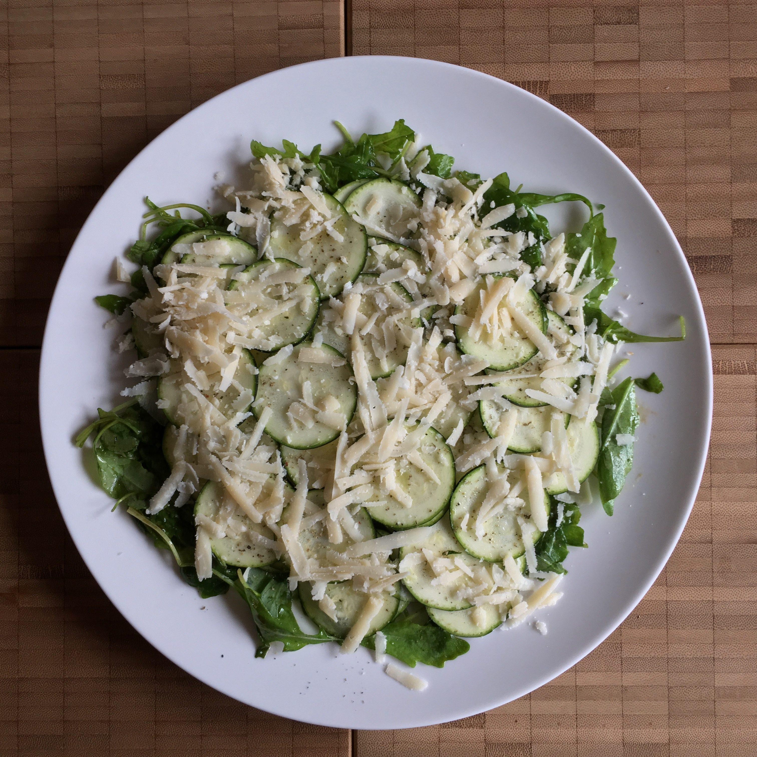 aperitivo – zucchini carpaccio