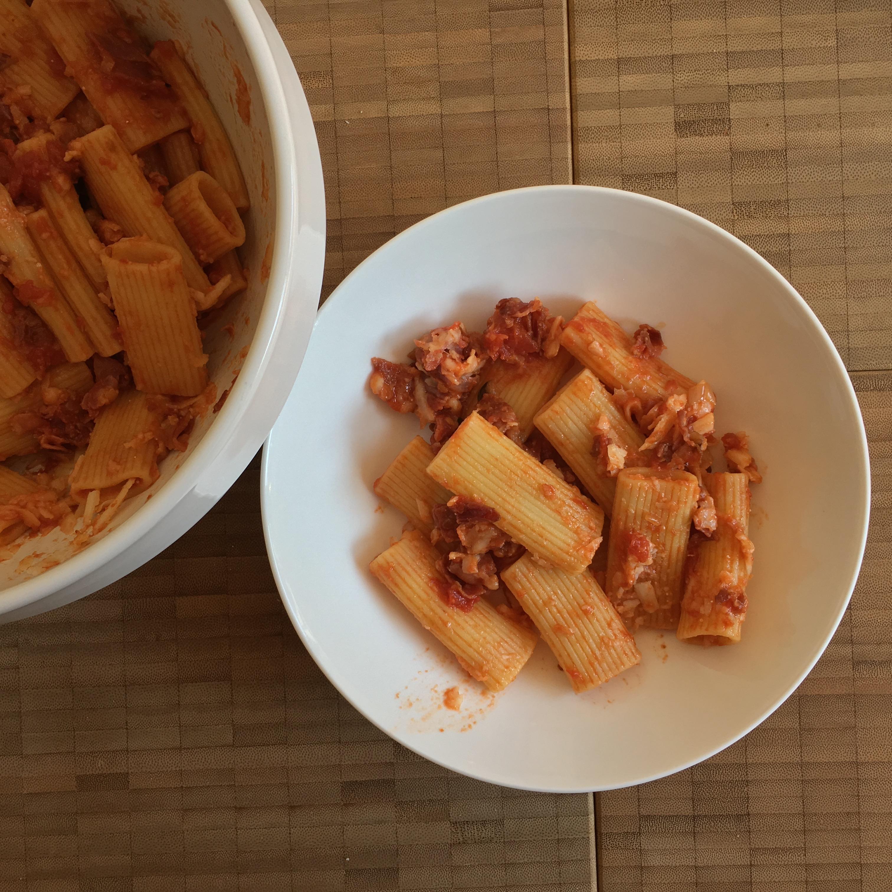 eleonora's pasta all'amatriciana