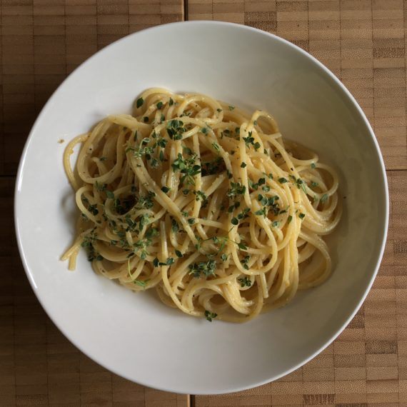 it's summer: lemon pasta!