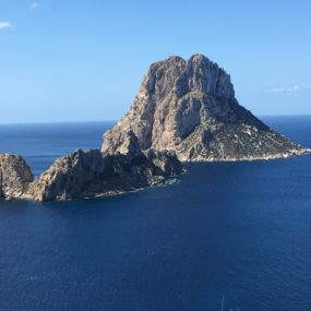 a calm island in the sun