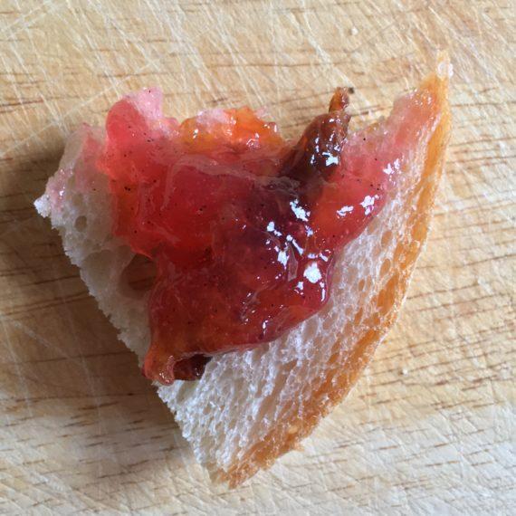 vanilla plum jam