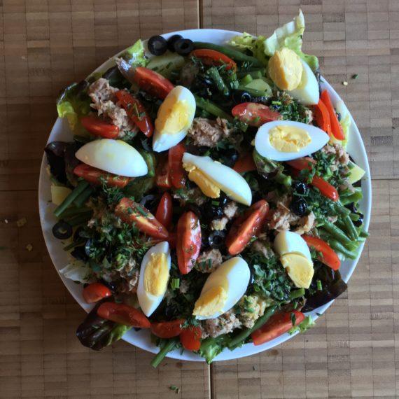 nice' salad aka salade niçoise